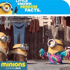 Before the Minions settled on their iconic blue overalls, Stuart test drove a variety of looks.