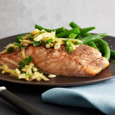 Yes! I made this and it's easy and awesome. Salmon with Preserved Lemon Topping from the 21-Day Tummy Diet