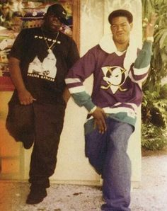 Biggie couldn't stand Craig Mack lol but look at his tee... Dope