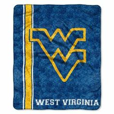 """NCAA West Virginia Mountaineers 50-Inch-by-60-Inch Sherpa on Sherpa Throw Blanket """"Jersey"""" Design by Northwest. $33.90. polyester. Made in China. Measures 50-inches-by-60-inches. 100% polyester. Officially licnesed graphics. Soft and warm; cuddle under this blanket available by The Northwest Company.  The 50-Inch-by-60-Inch Sherpa on Sherpa throw is made of 100% polyester.  Machine wash cold and tumble dry.  Officially licensed graphics.. Save 11%!"""