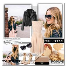 """""""Romwe 5"""" by followme734 ❤ liked on Polyvore featuring Bulgari, French Connection and romwe"""