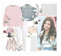 """""""Somi Inspired~"""" by adnqmu ❤ liked on Polyvore featuring AMIRI, BCBGMAXAZRIA, Miss Selfridge and adidas"""