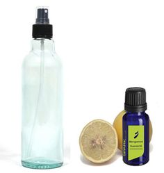 Canine Cologne: mix 10-15 drops of bergamot essential oil with 8 ounces water and apply a light spritz when needed.