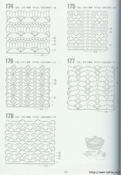 262 узора крючком. Японская книжка со схемами (34) (480x700, 216Kb)