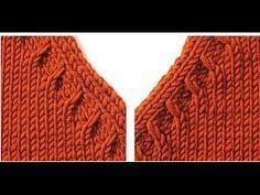 10 Best Knitting : Reglan sleeve cardigan, raglan sleeve sweater collar cut, can be applied to the west . Knitting Stitches, Knitting Designs, Knitting Patterns Free, Free Knitting, Baby Knitting, Stitch Patterns, Crochet Patterns, Diy Crafts Knitting, Knitting