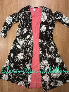 Gorgeous black and white floral sarah paired with a LuLaRoe Carly