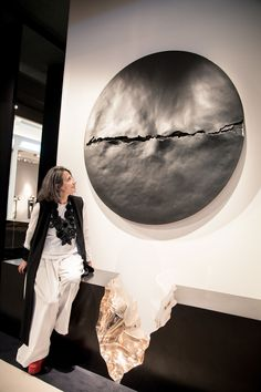 Wonderful Wall Art - I love circular pieces, but this has so much texture. Beautiful