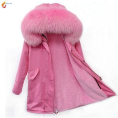 >> Click to Buy << Winter cotton jacket 2017 autumn new fashion big fur collar thicken coat medium long cotton clothing Parker Overcoat G225JQNZHNL #Affiliate