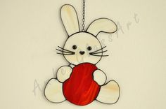 Easter decoration Easter decor. Easter animal. by AmberGlassArt