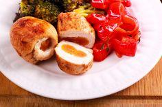 Fűszeres, sült csirkemell barackkal töltve: nem fog kiszáradni a sütőben Sausage, Food, Red Peppers, Sausages, Essen, Meals, Yemek, Eten, Chinese Sausage