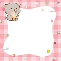 Cute Cartoon Wallpapers, Animes Wallpapers, Memo Notepad, Kids Canvas Art, Note Memo, Printable Scrapbook Paper, Cute Patterns Wallpaper, Cute Notes, Story Instagram