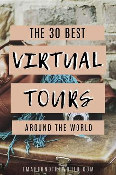 Stuck at home? These virtual tours around the world offer some of the best entertainment without ever having to set foot outside. Some extras include live opera shows and even a walk on Mars! You can also use this as a great teaching tool for kids. Google Earth, Tour Around The World, Travel Around The World, Around The Worlds, Virtual Museum Tours, Virtual Tour, Virtual Reality, Travel Advice, Travel Guides