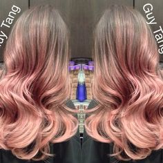 I love my rose gold lavendar hair color!! Love love love it!! | Yelp