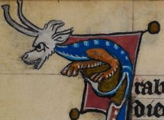 Detail from medieval manuscript, British Library Stowe MS 17 'The Maastricht Hours', f195v