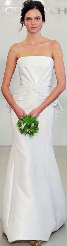 Angel Sanchez 2014 Wedding Dress