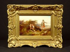 """""""Three Setters"""" and """"A Pause"""" - Hyde Park Antiques, Ltd."""