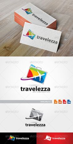 Travelezza Logo — Photoshop PSD #professional #bag • Available here → https://graphicriver.net/item/travelezza-logo/7759847?ref=pxcr