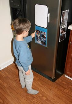 Helping preschoolers get organized...