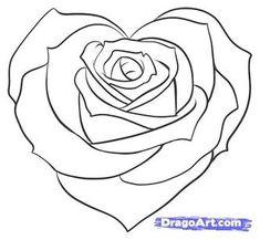 Wie man ein gebrochenes Herz zu zeichnen, Schritt für Schritt, Tattoos, Pop Culture, kostenlose Online-Zeichnung Tutorial, Hinzugefügt