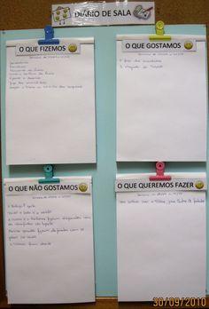 Bloguefólio: Organizar o tempo, o espaço e a rotina - os instrumentos de trabalho Pre School, Back To School, Reggio Emilia, School Projects, Classroom Decor, St Patricks Day, Diy For Kids, Kids Playing, Coaching