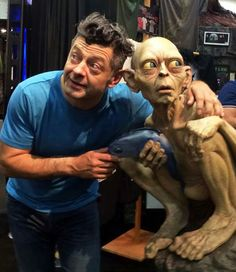 Andy Serkis with Gollum @ San Diego Comic-Con '14 #SDCC