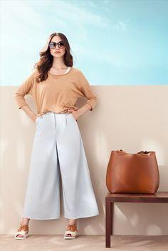 Kuaybe Gider - Buz Mavisi Pantolon 4015.78 %43 indirimle 124,99TL ile Trendyol da