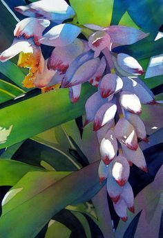 professional watercolor paintings with reflection and shine - Google Search