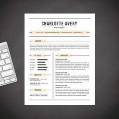 Alexandra Kingston Modern Fancy Resume  Cover Letter Template For