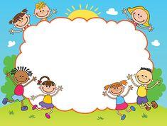 Kids Background, Flower Background Wallpaper, Cartoon Background, Free Vector Graphics, Free Vector Art, Art Drawings For Kids, Art For Kids, Boarder Designs, Powerpoint Background Design