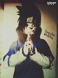 Sasuke Uchiha (Naruto) ~ by Feli ♦