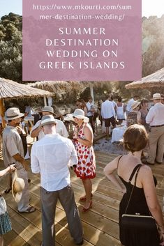 If you were stuck in the hunt for the perfect wedding destination, then you should consider one of the beautiful islands in Greece. The place is beautiful, the food is amazing, the locals are friendly, the environment is picturesque and there are weddings for all budgets. Summer Wedding Destinations, Greece Destinations, Honeymoon Destinations, Plan Your Wedding, Wedding Tips, Wedding Ceremony, Got Married, Getting Married, Greek Culture