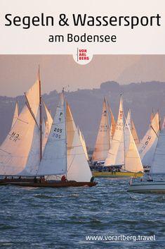 Surfen, Segeln, Bootstouren und Stand Up Paddling - alle Infos rund um Wassersport auf dem Bodensee. Sailing Ships, Canoeing, Summer Days, Water Sports, Renting, Sailing, Surfing, Sailboat, Tall Ships