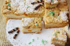 Di gotuje: Kruche ciasto z budyniem i brzoskwiniami