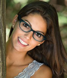 Women's Eye Glasses by Modern Optical International; affordable stylish feline cat style eyeglasses available in teal, black or brown.
