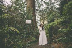 West Hoathly Woodland, White Dress, Barn, Wedding Dresses, Pretty, Fashion, Bride Dresses, Moda, Converted Barn