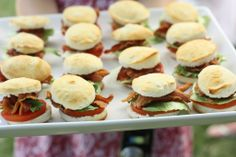 Everyone loves a blt! EAT DRINK PRETTY: Real party: the ultimate summer hoedown BBQ