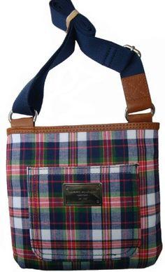 Women's Tommy Hilfiger Purse Handbag Signature Logo Small X-Body: Amazon.co.uk: Clothing