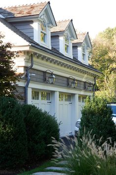 Dormers, exterior materials, colors