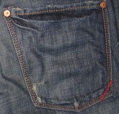 jeans / Banana Republic corner detail