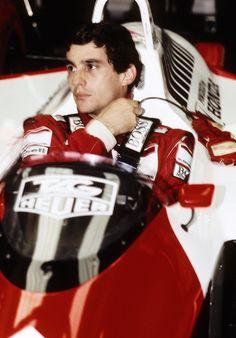 .Ayrton Senna