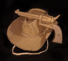 Cardboard Camera / Cowboy Hat / Shoes – Mark O'Brien - BlogAndBuySale