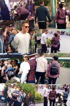 Josh Dallas and Ginnifer Goodwin at Disneyland (April 23, 2015)