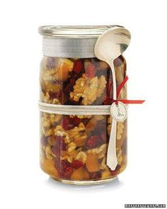 Honey, Walnut, and Dried-Fruit Topping Recipe