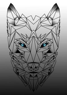 Wrist Small Wolf Tattoos For Females Inspiration is everywhere. Whether you're getting your first tattoo or are a veteran of ink, get new ideas part of tattoo for women Wolf Tattoo Design, Wolf Design, Tattoo Designs, Wolf Tattoos, Animal Tattoos, Celtic Tattoos, Tatoos, Geometric Wolf Tattoo, Geometric Art