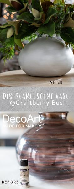 Create shimmering pearlescent stunning pieces with Americana® Pearls™paint. @craftberrybush Non Toxic Paint, Online Painting, Paint Brushes, Home Decor Items, Diys, The Cure, It Is Finished, Pearls, Create