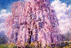 "PAPOH artist L. Diane Johnson.  Painting is called ""Whispering Cherry""."