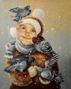 Title unknown -- by Kira Panina (b.1961, Russian)