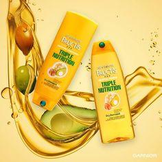 Free Sample of Garnier Triple Nutrition