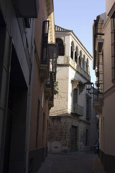 Juderia de Sevilla-Casa de los Pinelos.The House of the Pinelos is a mansion of the 16th century decorated with millstones.