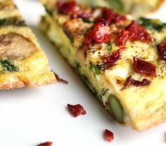 Breakfast Frittata.  Paleo